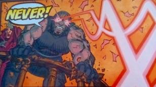 Darkseid's laser beam eyes